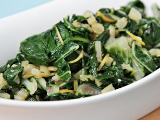 Boiled Swiss Chard
